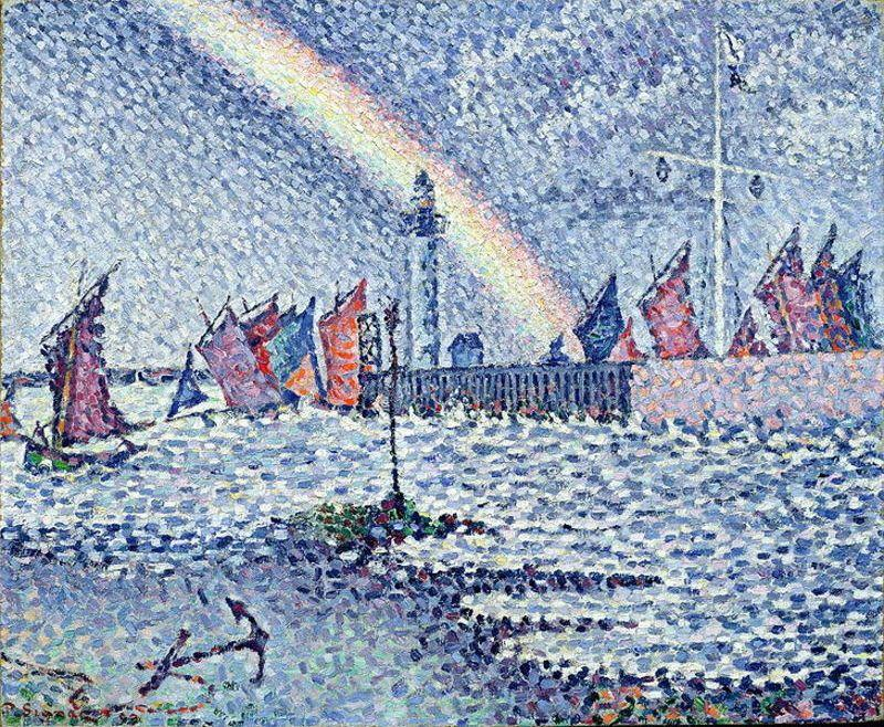 Paul Signac Entrance to the Port of Honfleur