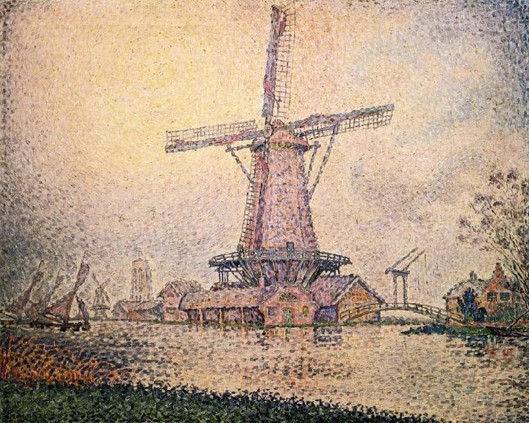 Paul Signac Dutch Mill at Edam