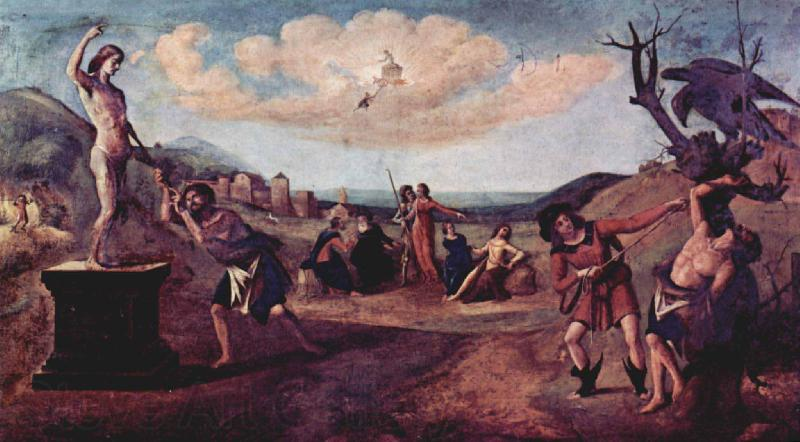Piero di Cosimo Myth of Prometheus
