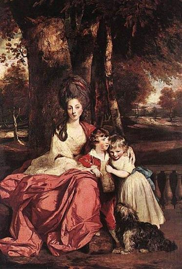 Sir Joshua Reynolds Lady Elizabeth Delme and her Children