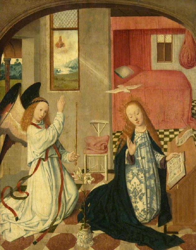 The Brunswick Monogrammist The Annunciation