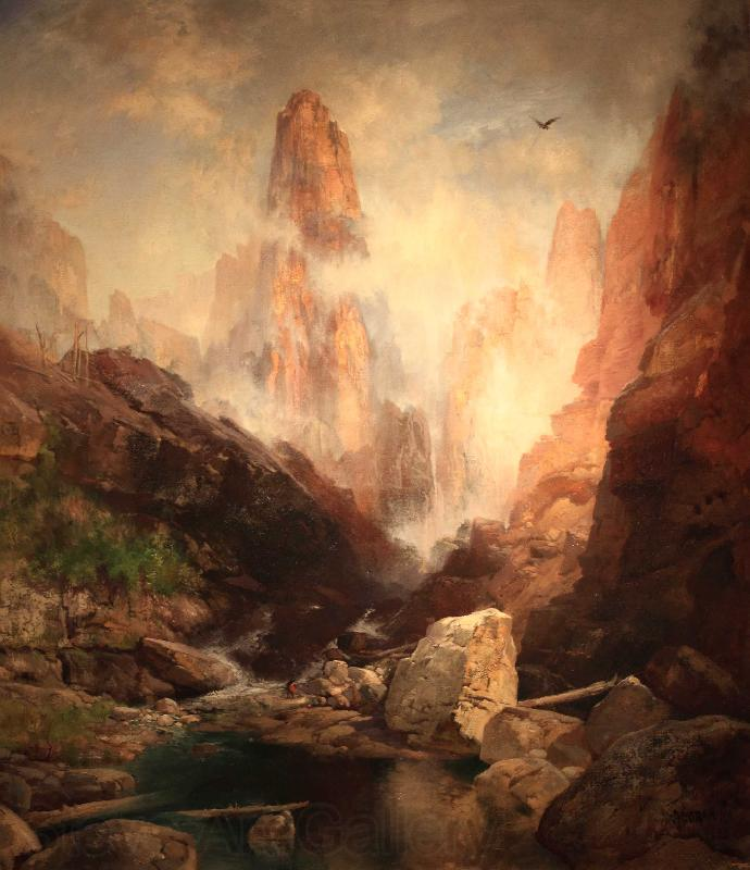 Thomas Moran Mist in Kanab Canyon