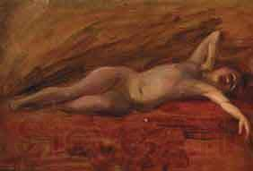 William Woodward Reclining Nude