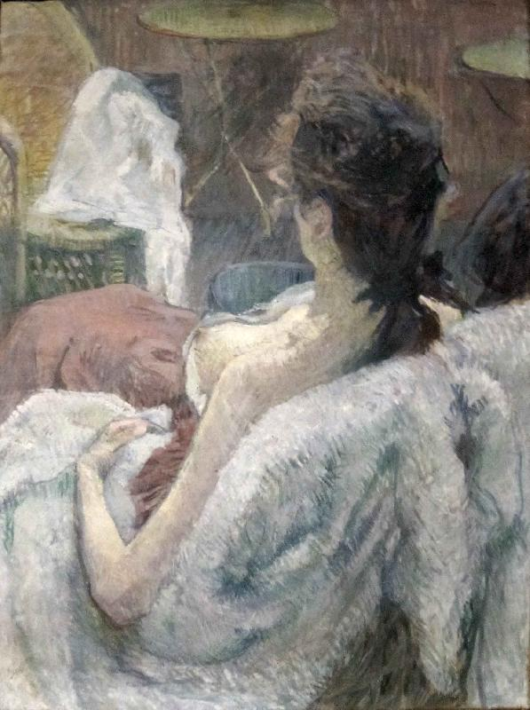 toulouse-lautrec The Model Resting