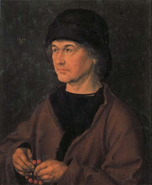 Albrecht Durer Portrait of the Artist's Father