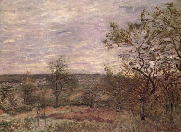 Alfred Sisley Windy Day in Veno
