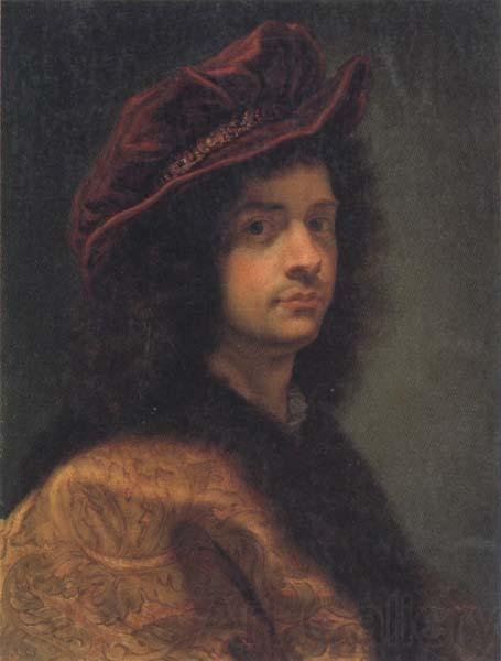 Baciccio Self-Portrait