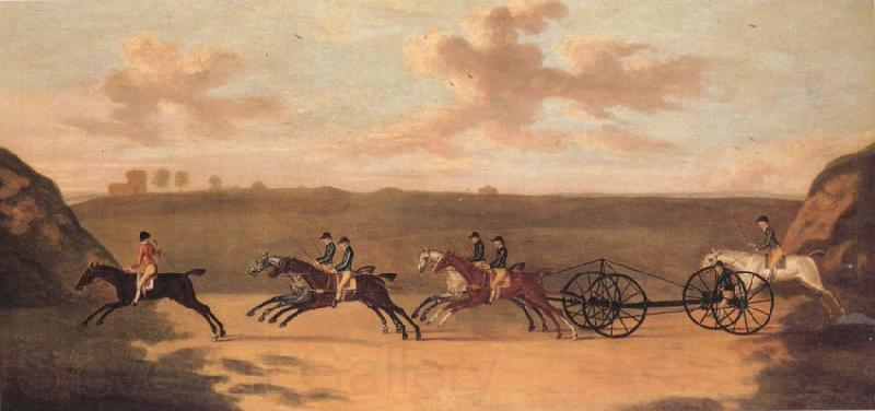 Francis Sartorius The Chaise Matoch,Run on Newmarket Heath,Wednesday,The 29 th of August