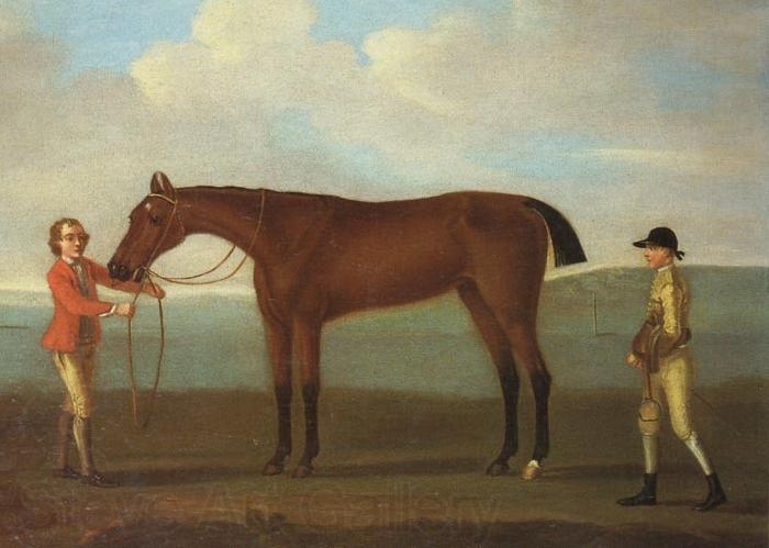 Francis Sartorius Molly Long Legs With Jockey and Groom