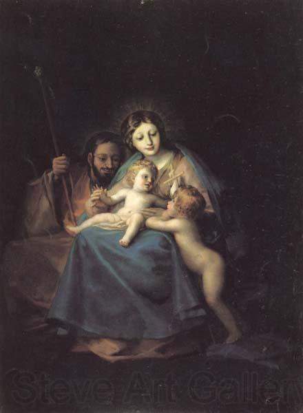 Francisco de goya y Lucientes The Holy Family