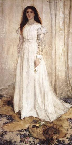 James Abbott McNeil Whistler Symphony in white No 1 The White Girl