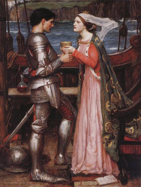 John William Waterhouse Tristram and Isolde