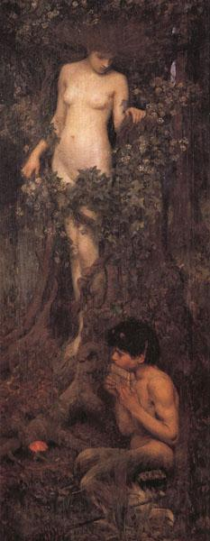 John William Waterhouse A Hamadryad