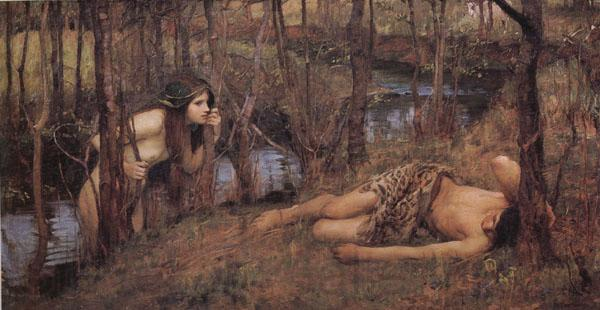 John William Waterhouse A Naiad