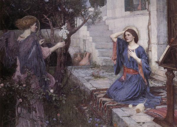 John William Waterhouse The Annunciation
