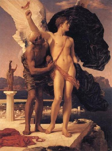 Lord Frederic Leighton Daedalus and Icarus