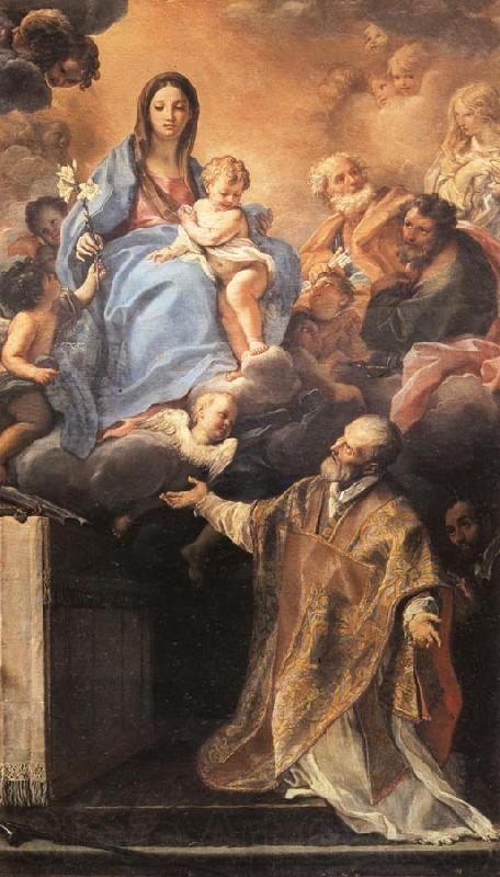 Maratta, Carlo TheMadonna Appearing to St.Philip Neri