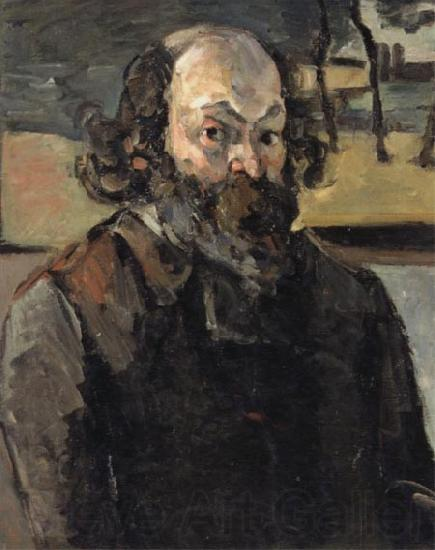 Paul Cezanne Self-Portrait