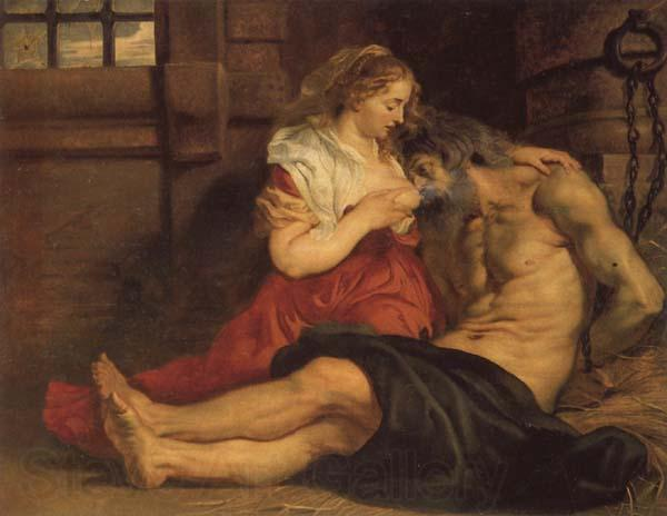 Peter Paul Rubens A Roman Woman's Love for Her Father