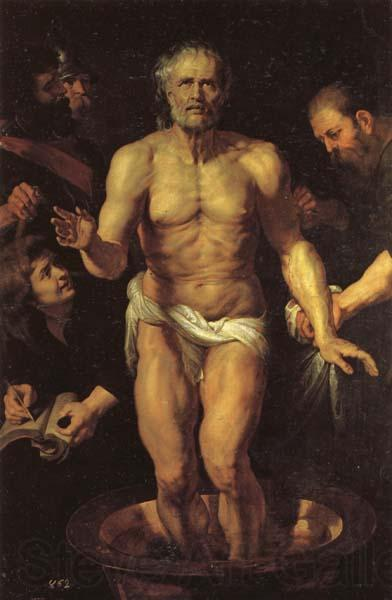 Peter Paul Rubens The Death of Seneca