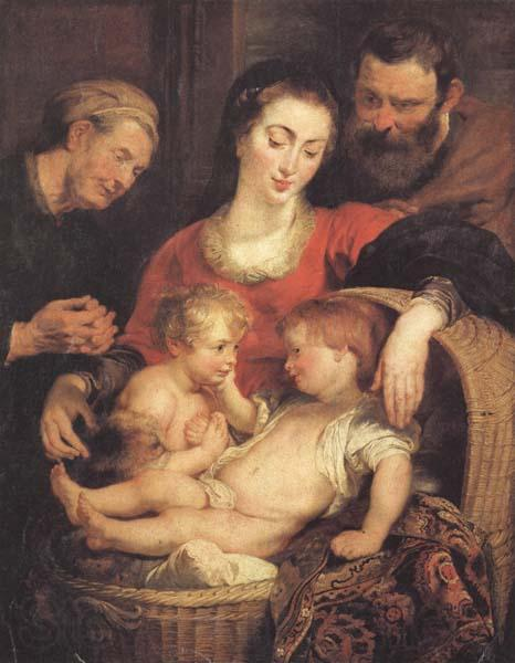 Peter Paul Rubens Holy Family with St.Elizabeth