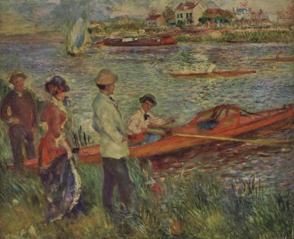 Pierre Renoir Boating Party at Chatou
