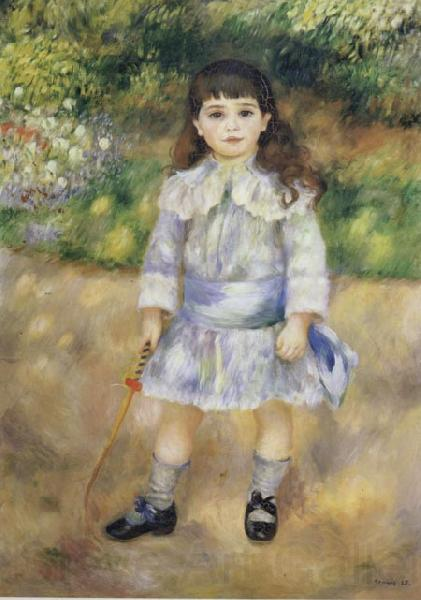Pierre Renoir Child with a Whip