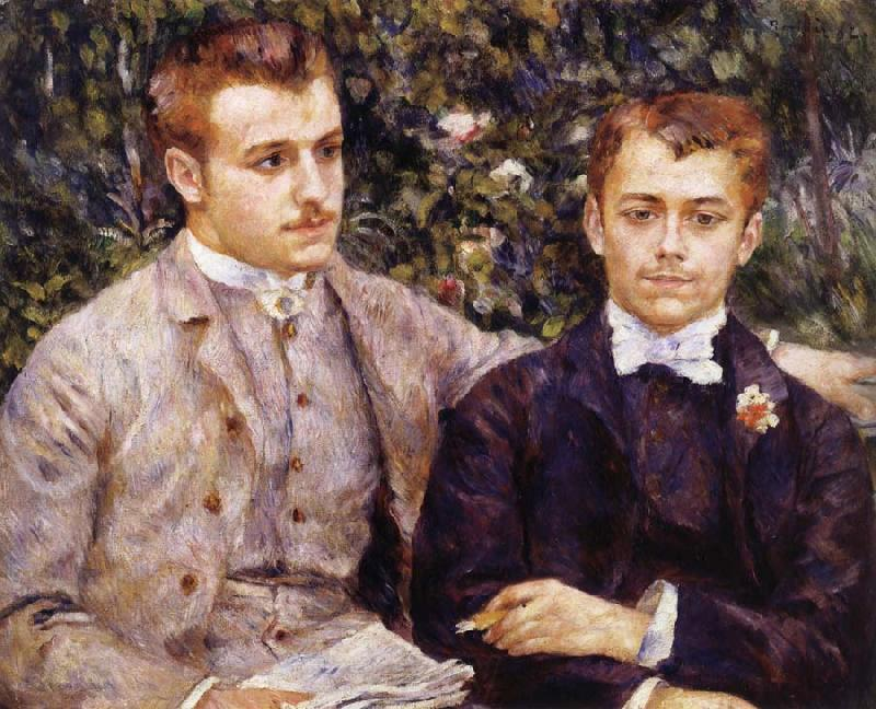 Pierre Renoir Charles and Georges Durand-Ruel