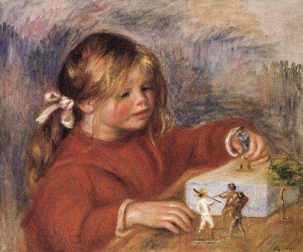 Pierre Renoir Coco Playing