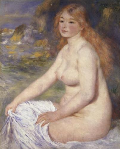 Pierre Renoir Blonde Bather