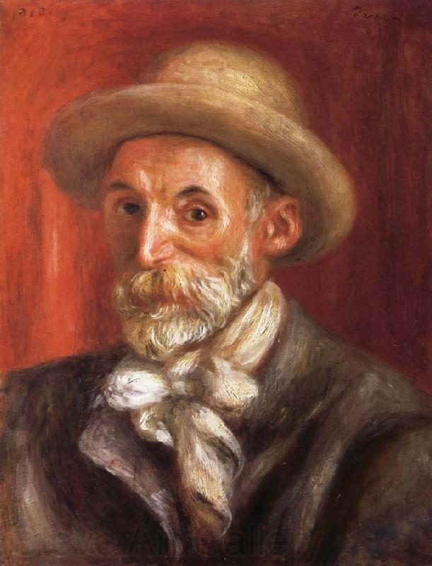 Pierre Renoir Self-Portrait