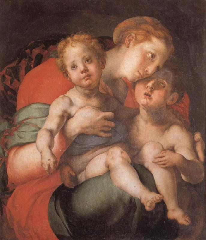 Pontormo Madonna and Child with the Young St.John