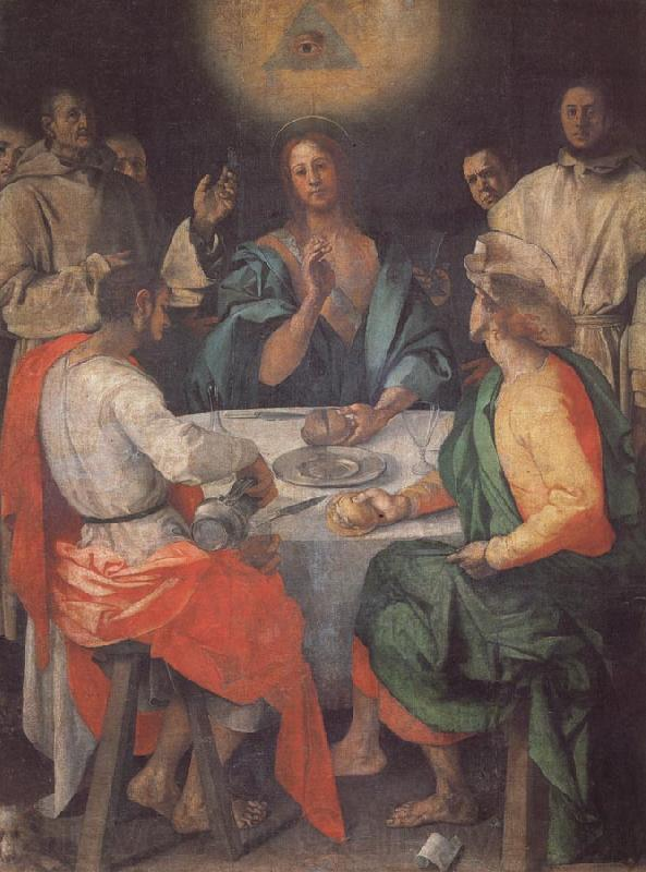 Pontormo The Supper at Emmaus
