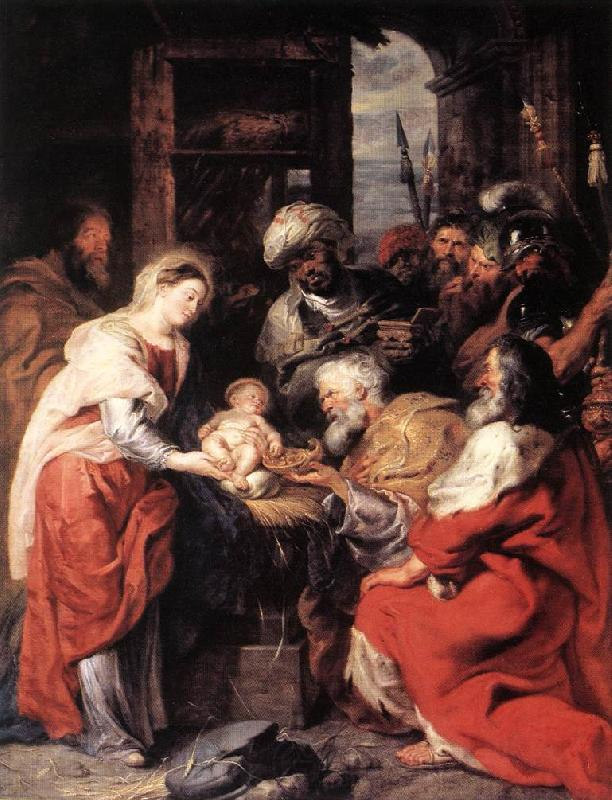 RUBENS, Pieter Pauwel Adoration of the Magi