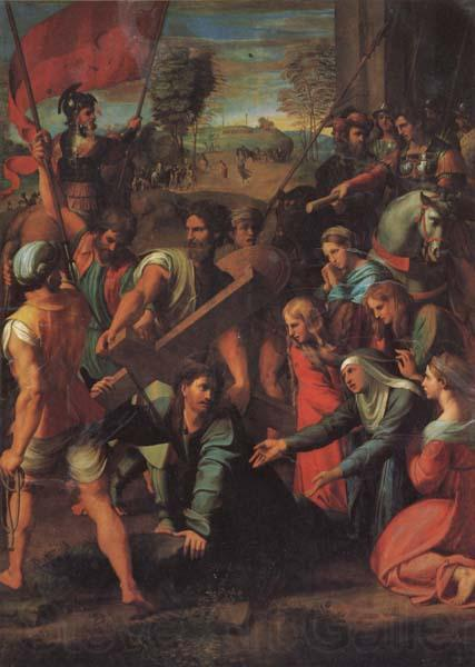 Raphael Christ Falls on the Road to Calvary