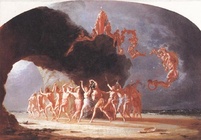 Richard  Dadd Come unto these Yellow Sands
