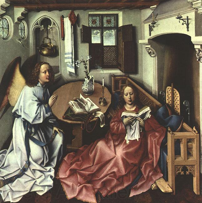 Robert Campin The Annunciation