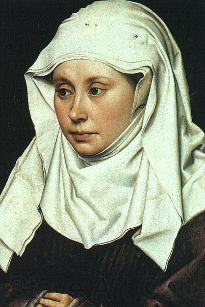 Robert Campin Portrait of a Lady