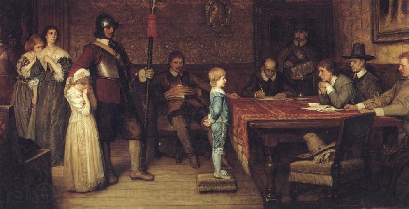 William Frederick Yeames,RA And When Did You Last See Your Father