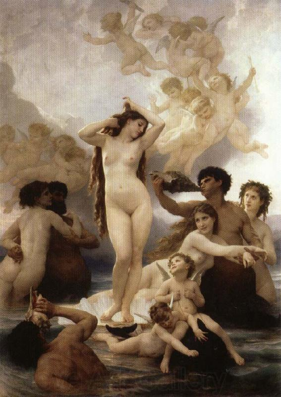 Adolphe William Bouguereau Birth of Venus