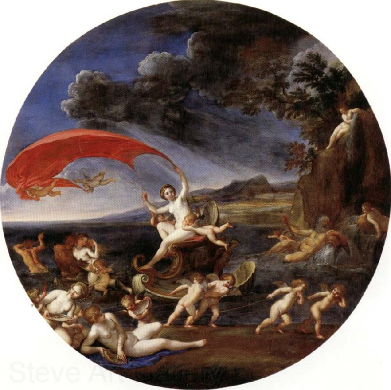 Albani Francesco Allegory of Water,from The Four Elements