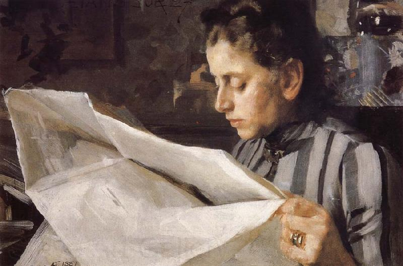 Anders Zorn Emma Zorn reading