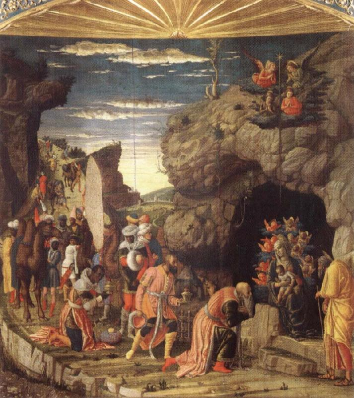 Andrea Mantegna Adoration of the Magi