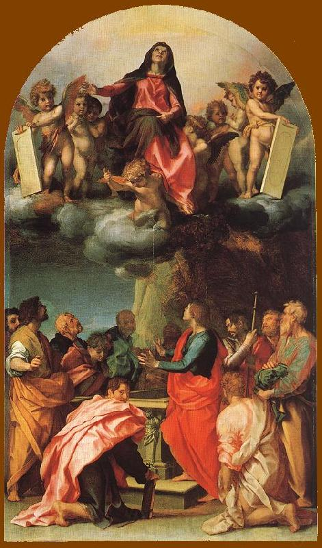 Andrea del Castagno Assumption of the Virgin