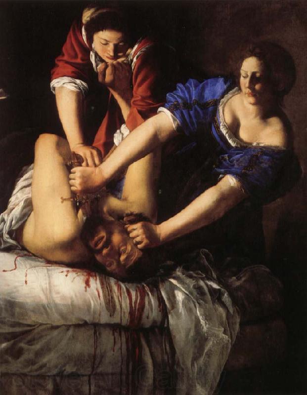 Artemisia gentileschi Judith Beheading Holofernes