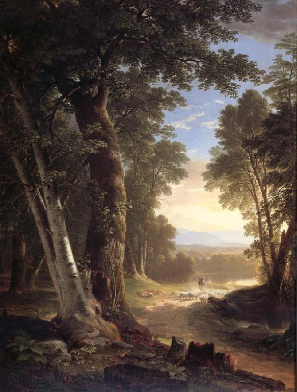 Asher Brown Durand Les hetres
