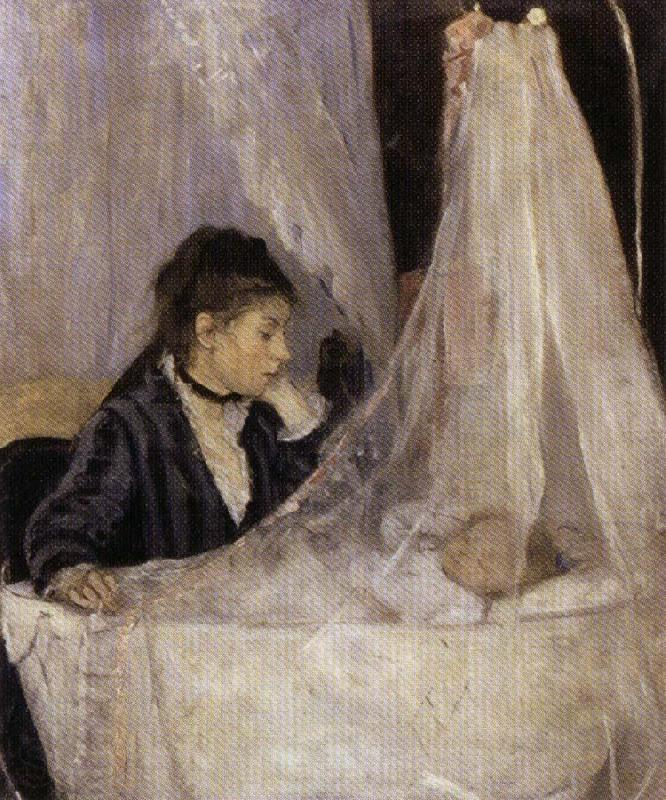 Berthe Morisot The Crib