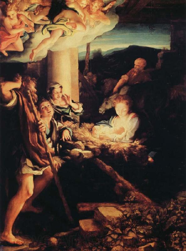 Correggio Adoration of the Shepherds