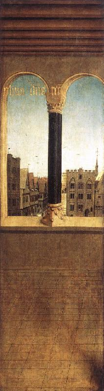 EYCK, Jan van Arched Window with a View