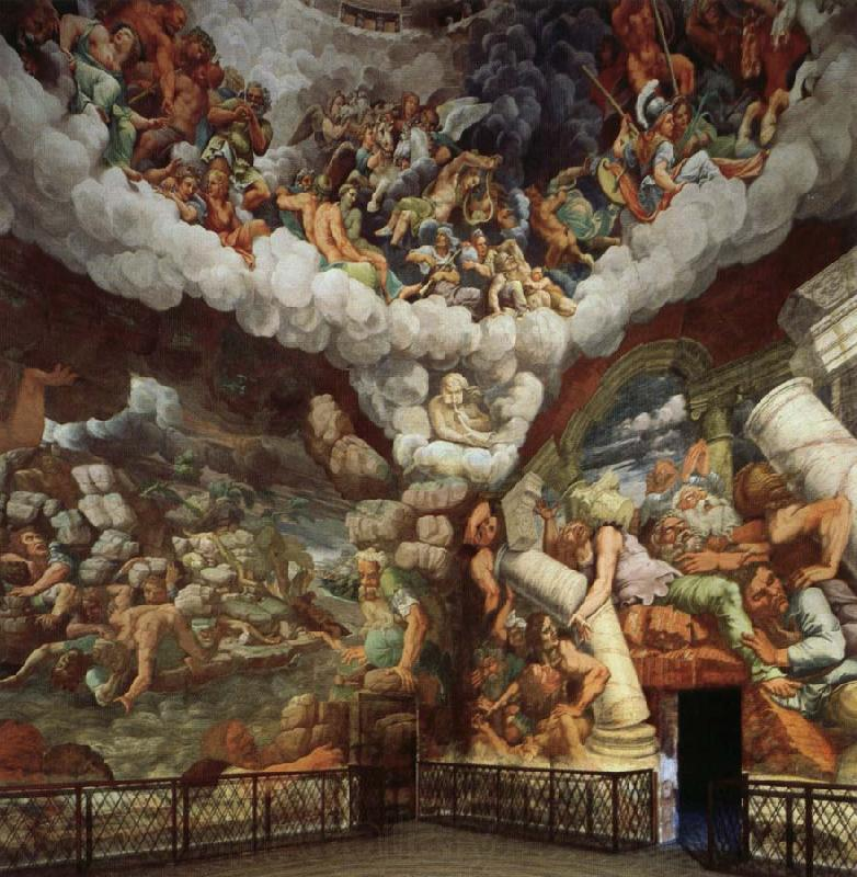 Giulio Romano The Giants Hurled Down from Olympus